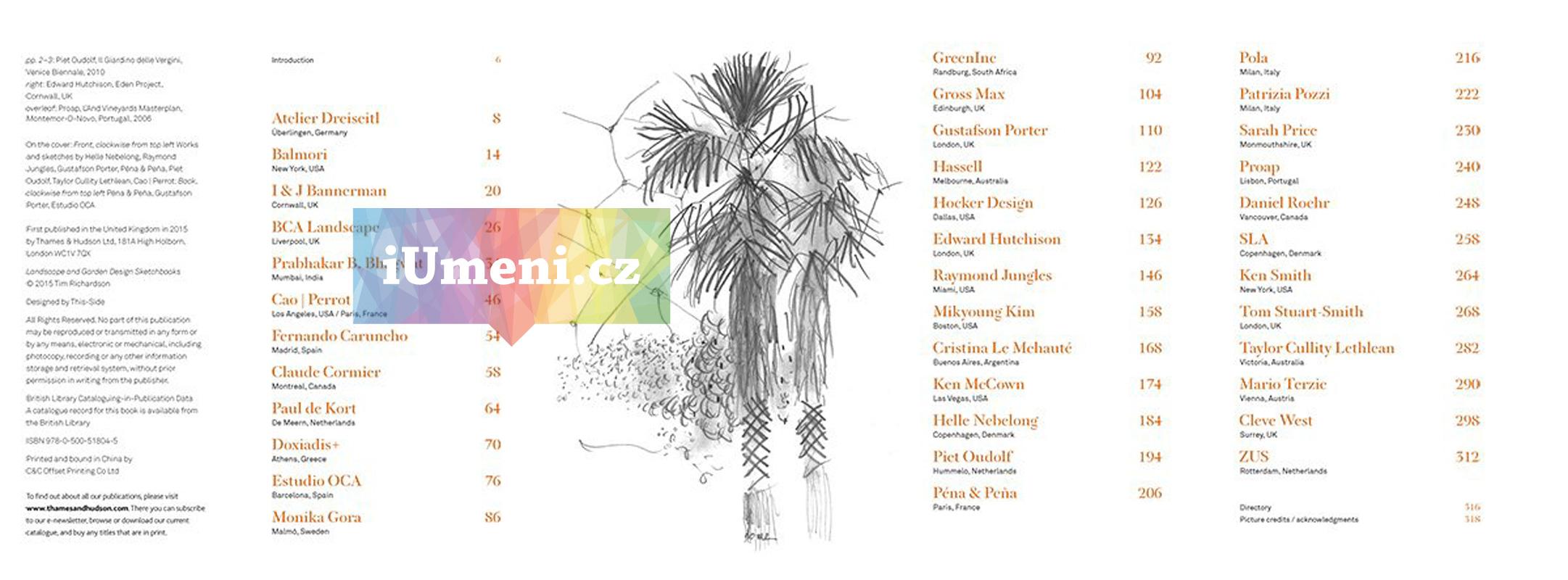 Landscape and Garden Design Sketchbooks kniha