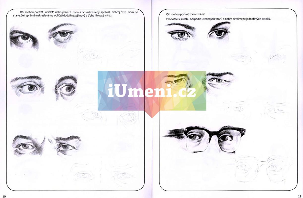 Skola Kresleni Stinovani Portrety Kniha
