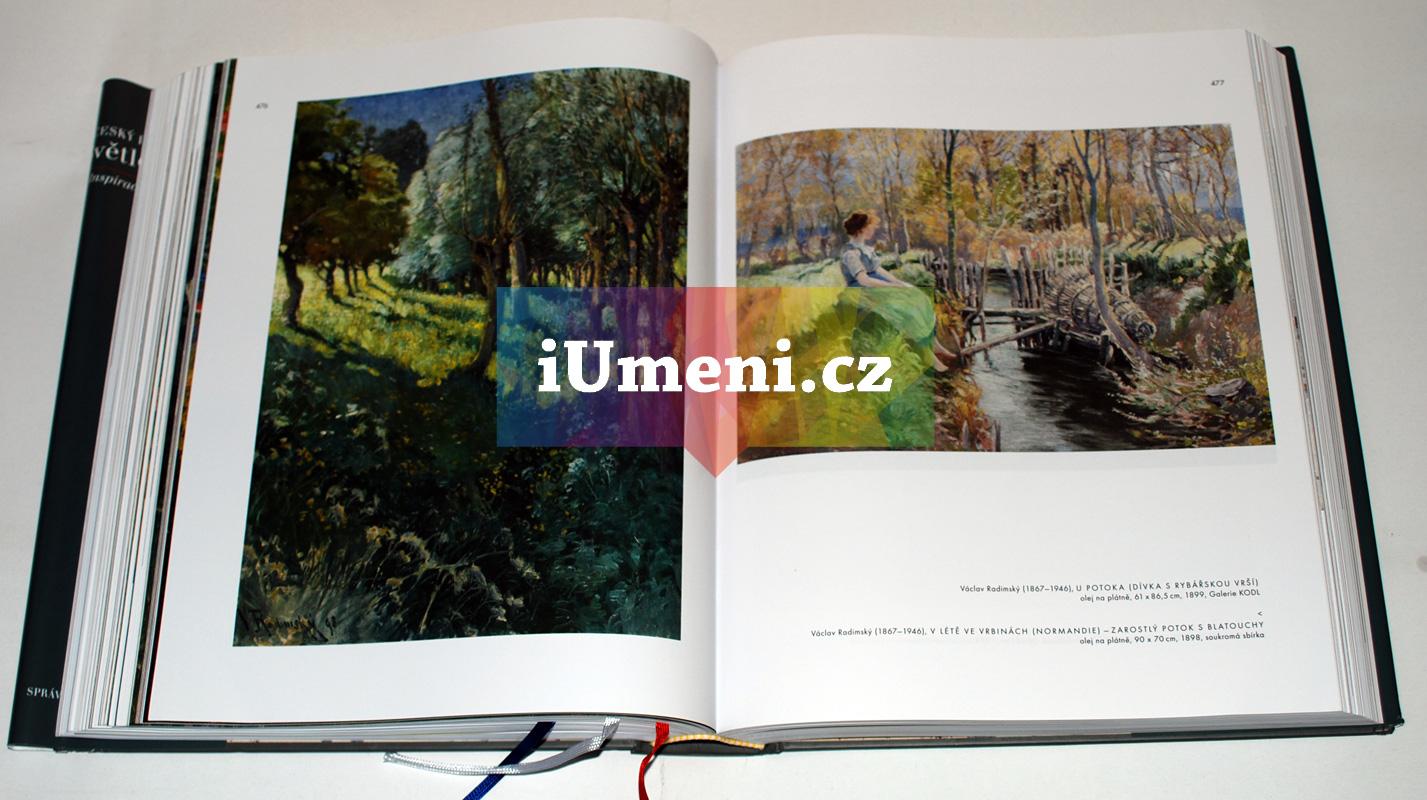 světlo v obraze český impresionismus kniha