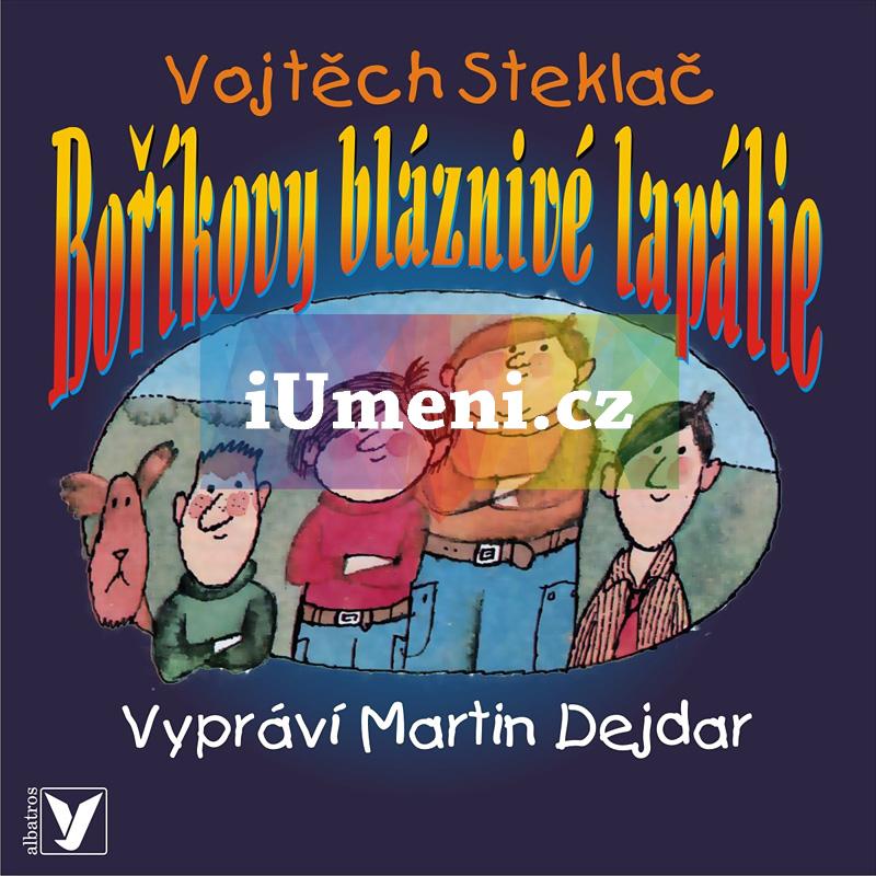 Boříkovy bláznivé lapálie (audiokniha) - Vojtěch Steklač