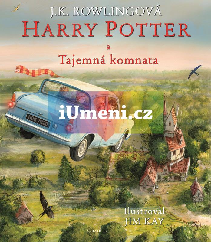 Harry Potter a Tajemná komnata - ilustrované vydán - J. K. Rowlingová, Jim Kay