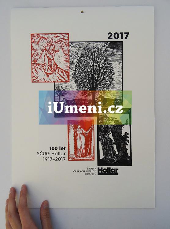 Kalendář Hollaru 2017 - limitovaná edice (6 grafických listů) - kolektiv autorů