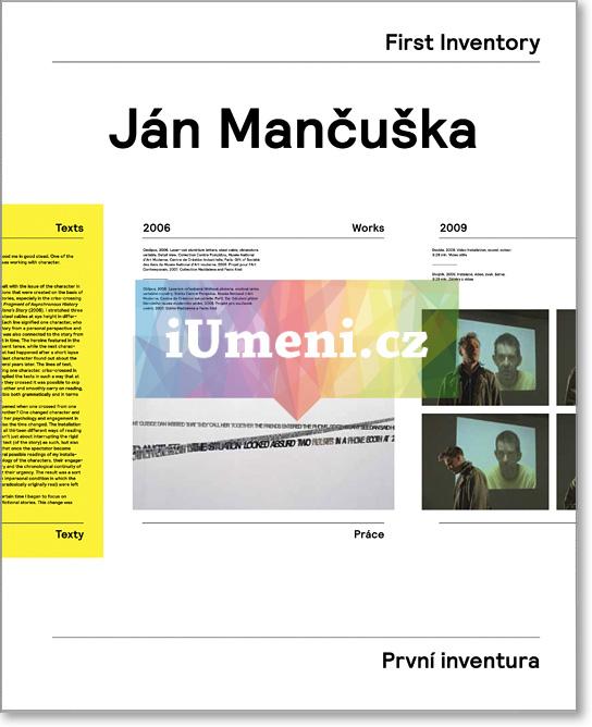 Ján Mančuška - První inventura / First Inventory - Mančuška Ján, Havránek Vít (EN)