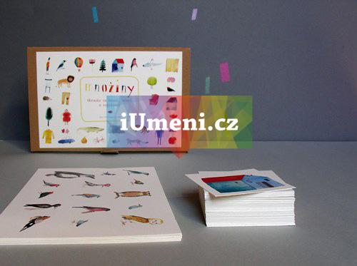 Množiny obrázky na hraní učení a vyprávění - Jana Nachlingerová