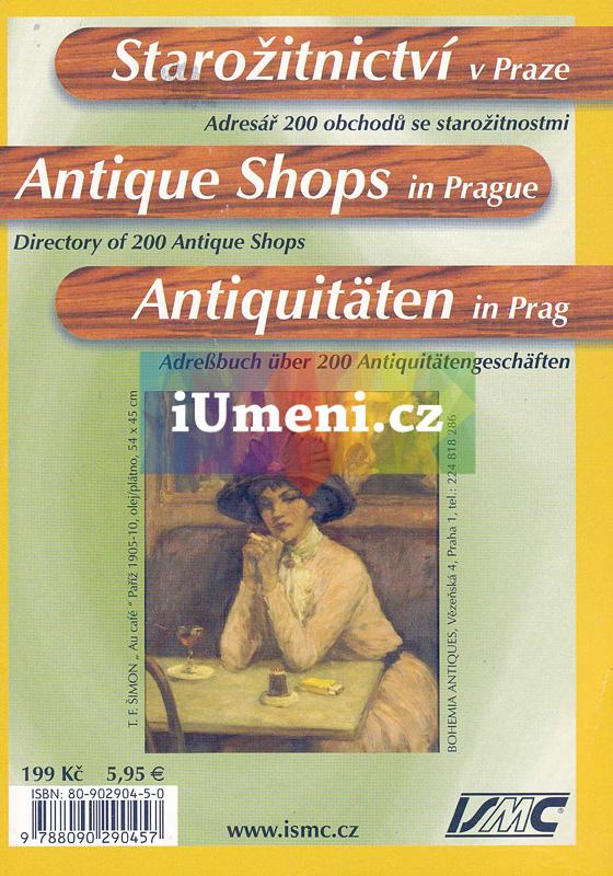 Starožitnictví v Praze - kolektiv autorů