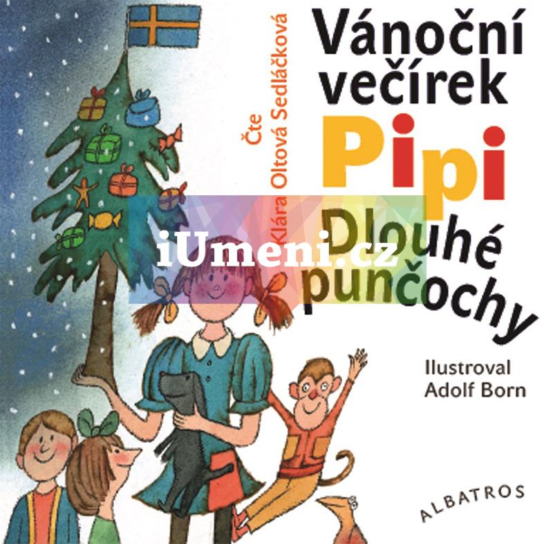 Vánoční večírek Pipi Dlouhé punčochy (audiokniha pro děti) - Astrid Lindgrenová